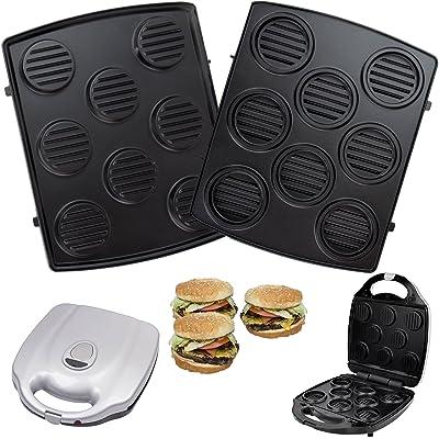 1 Jeu de hamburgerplatten pour syntrox chef maker zN 2000W hamamélis et efbe-schott zN 800 xXL