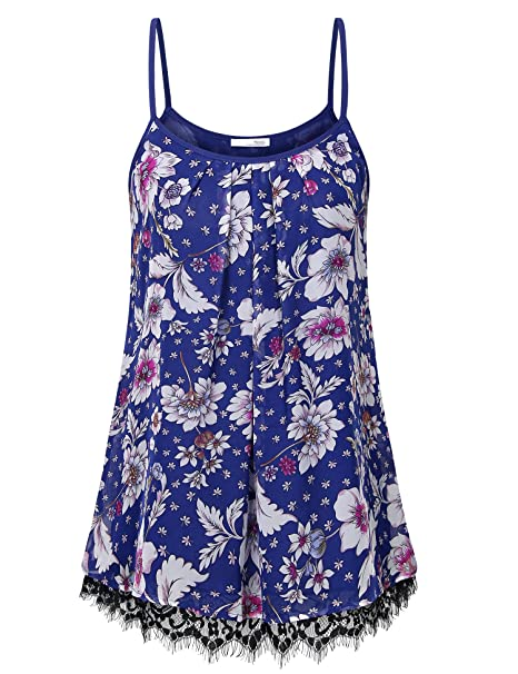 0654314ec9dc3 Messic Women s Casual Tunic Tank Tops Chiffon V Neck Sleeveless Blouse Tops  (Medium
