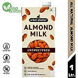 Urban Platter Almond Milk, 1 Litre [Unsweetened, Lactose-Free, Plant-Based Milk Alternative]