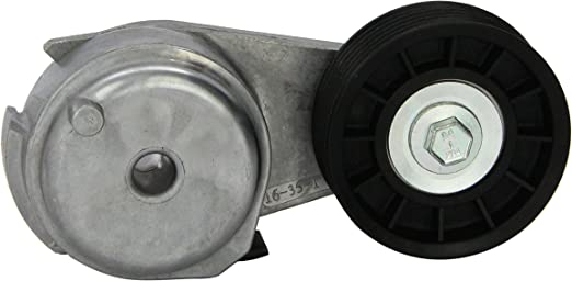 A-Premium Belt Tensioner Assembly Compatible with Chevy Impala 06-11 Malibu 07-10 Uplander 06-09 Pontiac G6 06-10 Montana 2006-2009