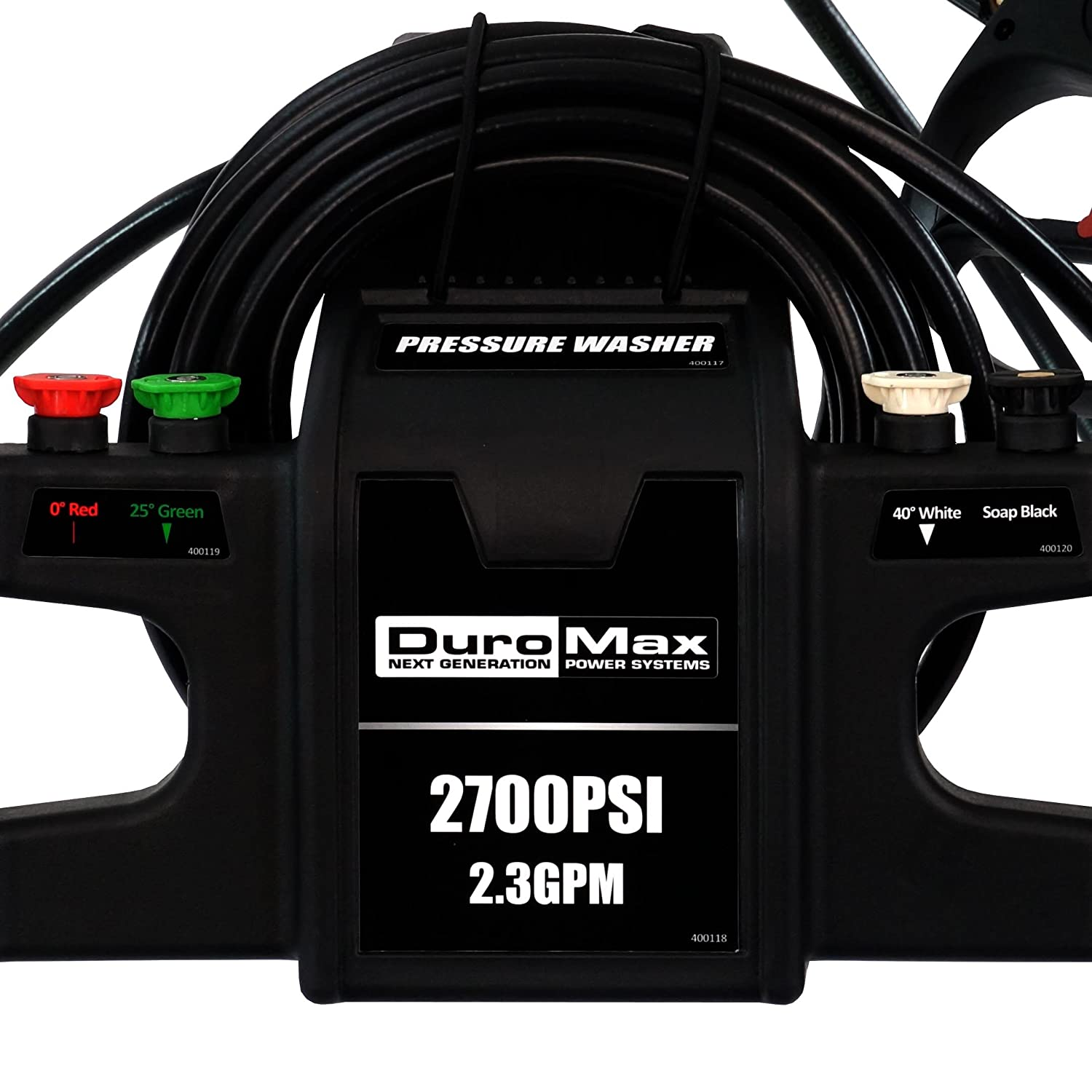 Amazon.com : Duromax XP2700PWS 2.3 GPM 5 HP Gas Engine Pressure Washer, 2700 PSI