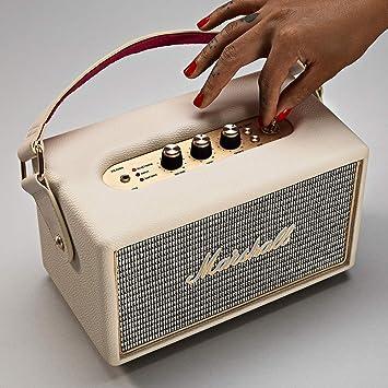 Marshall Kilburn - Altavoz portátil (100 dB, 25 W, Bluetooth ...