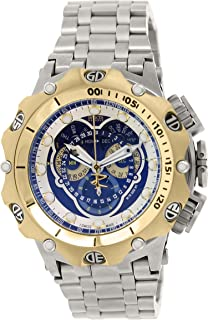 Invicta Venom Chronograph Blue Dial Stainless Steel Mens Watch 16808
