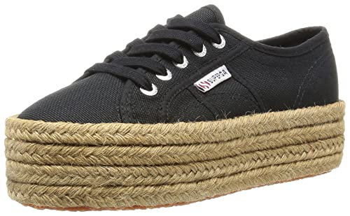 Tg. 38 EU Superga 2790Cotropew Sneaker a Collo Basso Donna Nero 38 EU