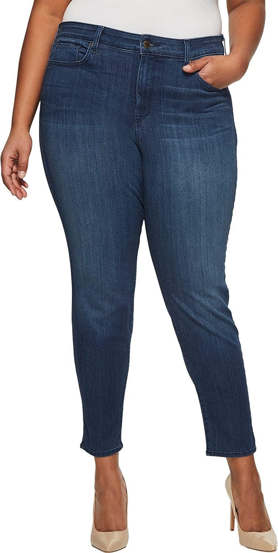 NYDJ Womens Plus-Size Plus Size AMI Skinny Legging in Sure Stretch Denim WAER2021