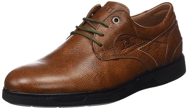 Coronel Tapioca C37-77, Zapatos de Cordones Brogue para Hombre, Marrón (Cuero), 43 EU