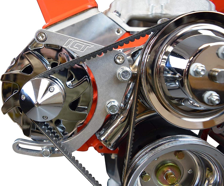 Aluminum Alternator Bracket Kit for Chevy SBC Small Block Engine 350