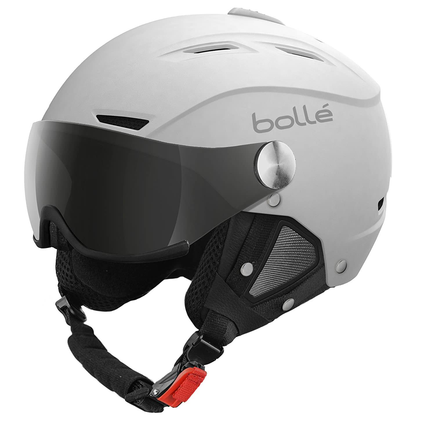 Bollé Helmet Backline Visor Soft with Lemon Casco de esquí