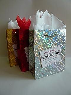 65th Birthday Survival Kit For Female Fun Gift Idea Novelty Present