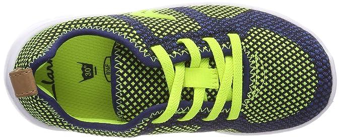 13348a65821b2 Clarks Unisex Kids  Sprint Flux Low-Top Sneakers