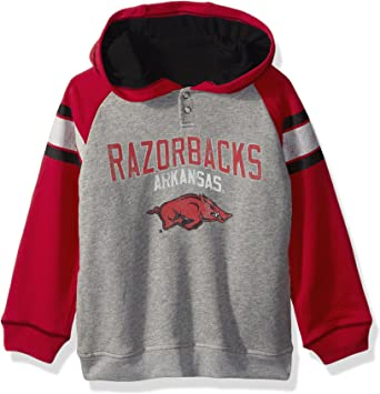 NCAA by Outerstuff Little NCAA Kids /& Youth Boys Team Logo Pullover Hoodie Kids Medium 5-6 Missouri Tigers Black