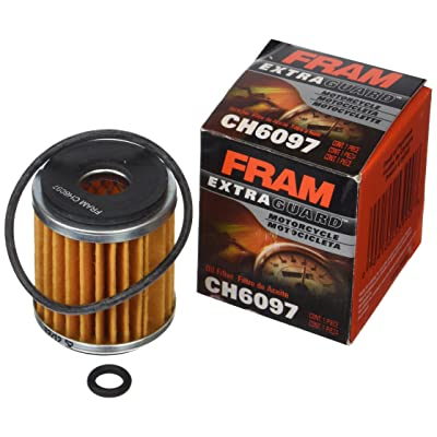 FRAM CH6097 ATV/Motorcycle Cartridge Oil Filter: Automotive