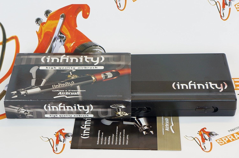 126554 INFINITY CRplus GRAVITY FEED AIRBRUSH 0.15mm HARDER /& STEENBECK
