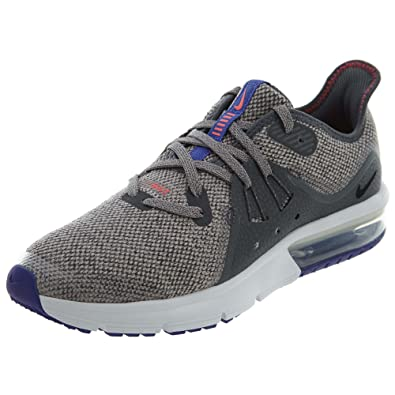 c382153b86 Nike Boys Air Max Sequent 3 (Gs) Running Shoes, Multicoloured (Dark Grey