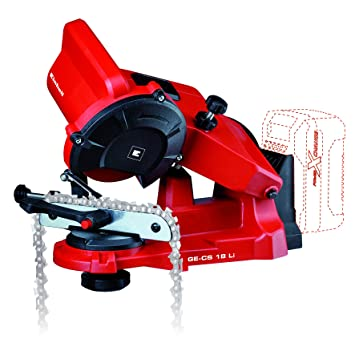 Amazon.com: Einhell GE-CS 18 Li-Solo Cordless Chain Grinding ...