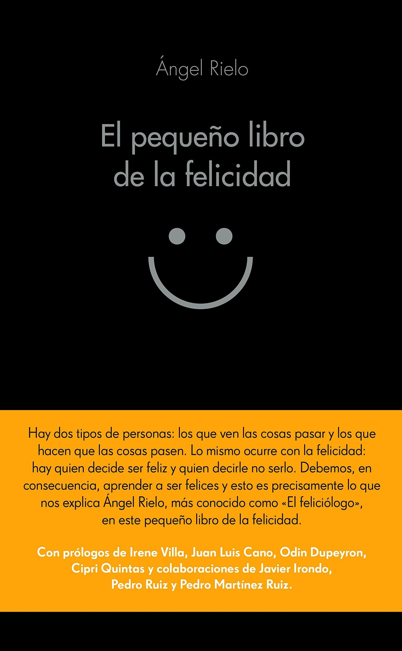 El pequeño libro de la felicidad (COLECCION ALIENTA): Amazon.es: Ángel  Rielo Fernández: Libros