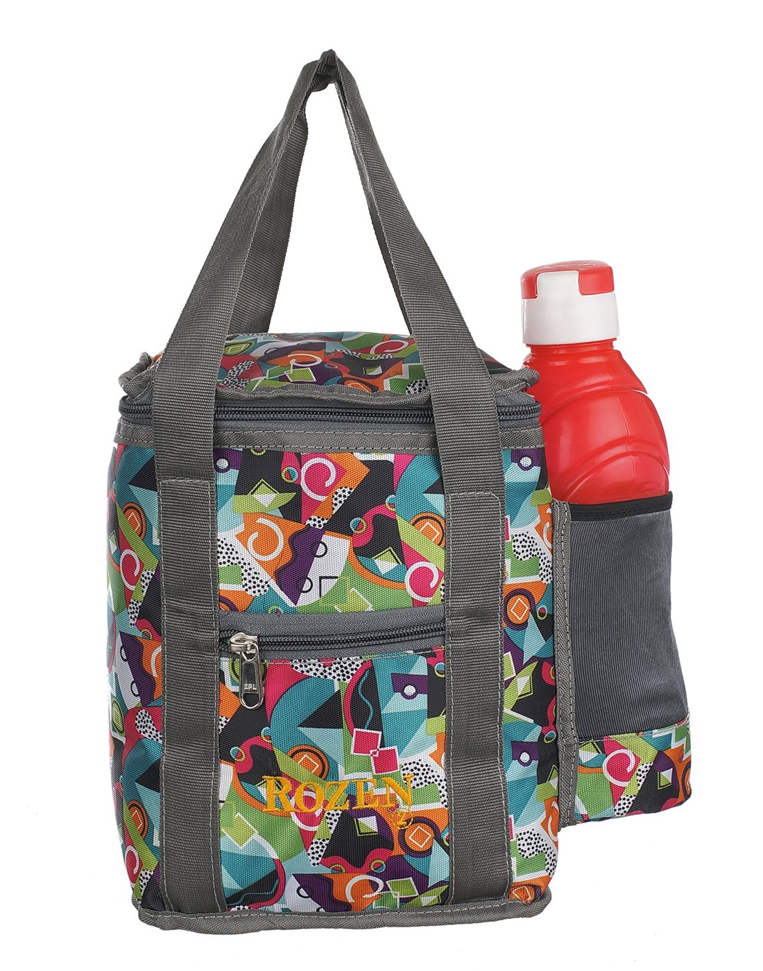 Rozen Muitifunction Lunch Tiffin Bag (Multicolor)