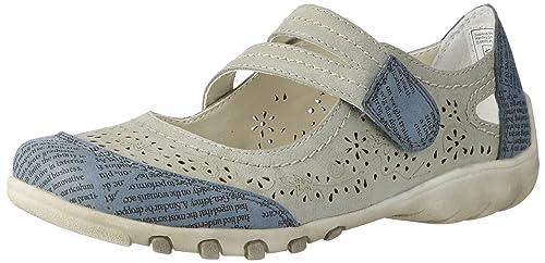 Supremo 2721601, Bailarinas con Punta Cerrada para Mujer, Gris (Grey), 39 EU: Amazon.es: Zapatos y complementos