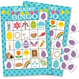 Easter Bingo Game for Kids - 24 Players