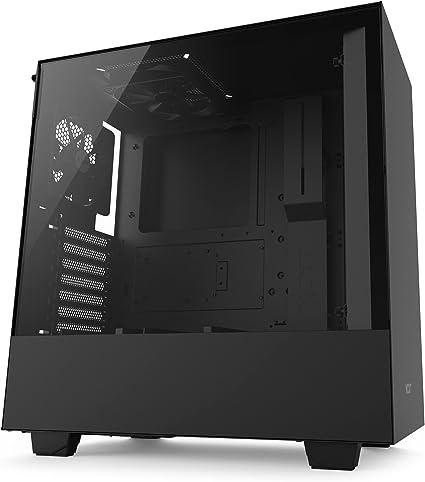 NZXT H500 – Caja PC Gaming compacta de tamaño mediano ATX – Panel ...