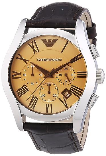 63515abaf827 Emporio Armani AR1634 - Reloj cronógrafo de cuarzo para hombre ...