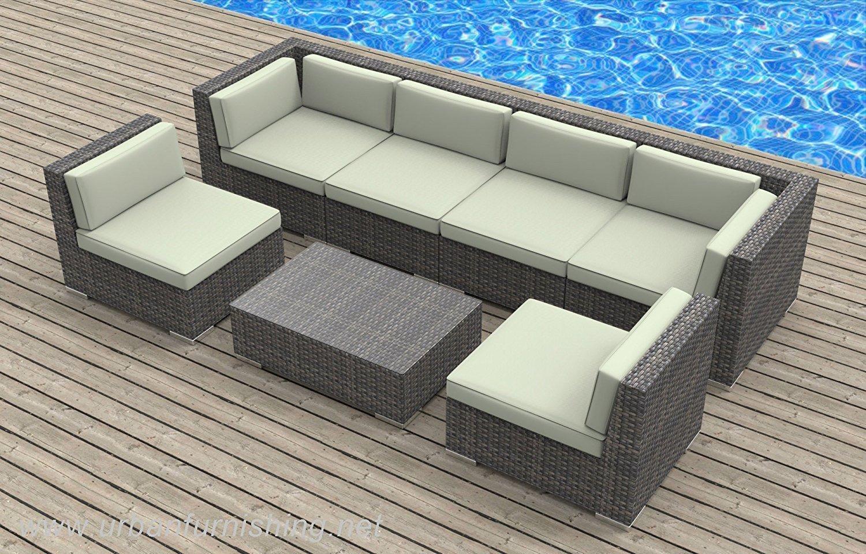 amazon com urban furnishing net 16 piece outdoor dining and