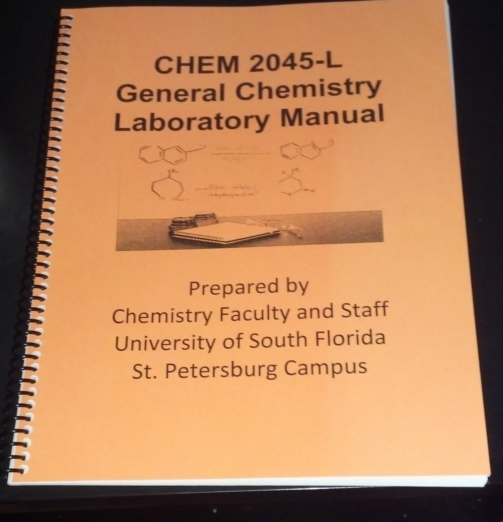 CHEM 2045-L General Chemistry Laboratory Manual (For Chemistry Lab 2045-L ( Chem 1)): Prepared by Chemistry Faculty and Staff University of South  Florida ...