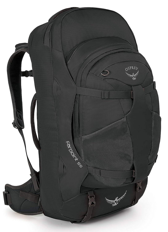 Osprey Farpoint 55 Reiserucksack für Herren, Volcanic Grey: Amazon ...
