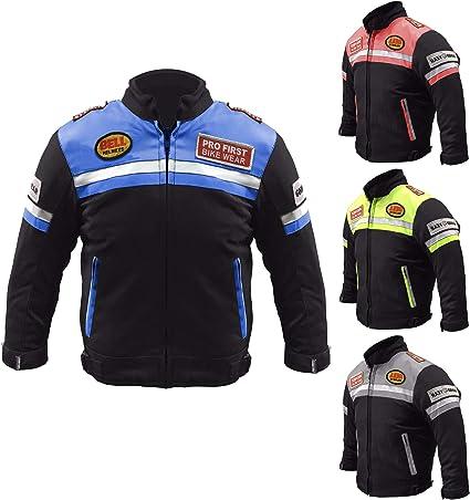 con armadura CE Profirst Global Chaqueta de motocross para ni/ños 414