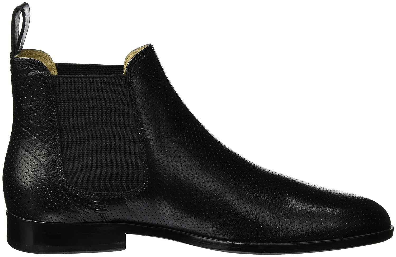 MELVIN & HAMILTON MH HAND MADE Schuhe Damen OF CLASS Susan 10 Damen Schuhe Chelsea Stiefel Schwarz (Salerno Perfo schwarz Ela schwarz Ls schwarz) fc5444