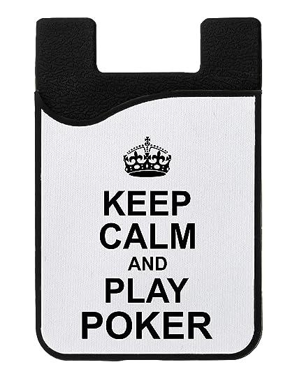 Poker Casino Game Keep Calm and Play Quality Titular de la ...