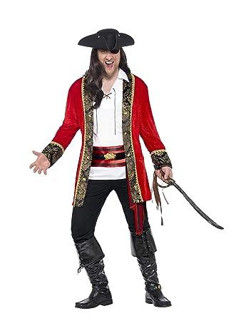 Herren 24464l Smiffys KostümGrößeLRot Piraten iPXZOku