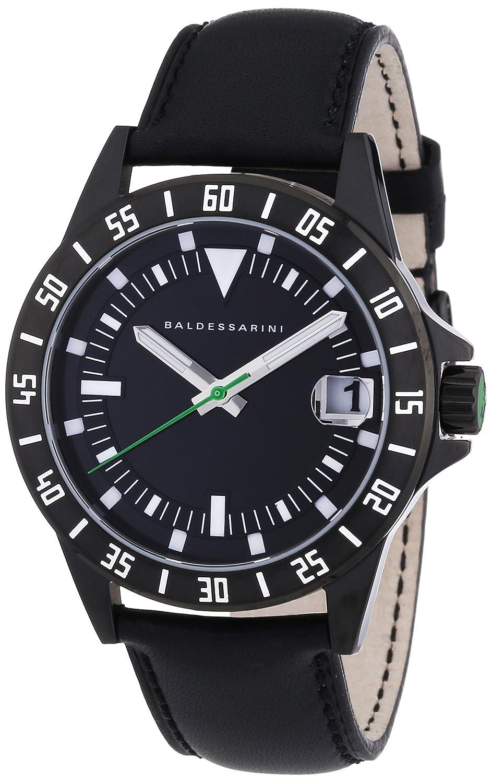 Baldessarini Herren-Armbanduhr XL DUB Analog Quarz Leder Y8032W-20-00