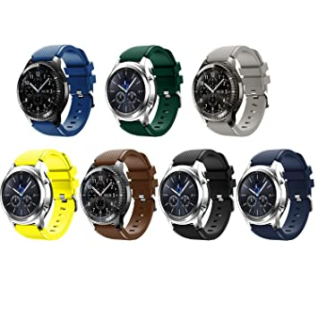 Tabcover® 7 Colors Gear S3 Frontier Classic Smart Watch ...