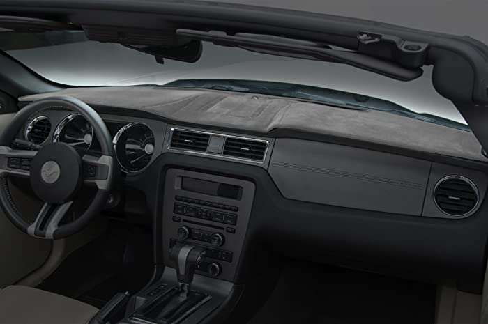 Coverking Custom Fit Dashcovers for Select Lexus IS F/IS250/IS350 Models - Suede (Gray)