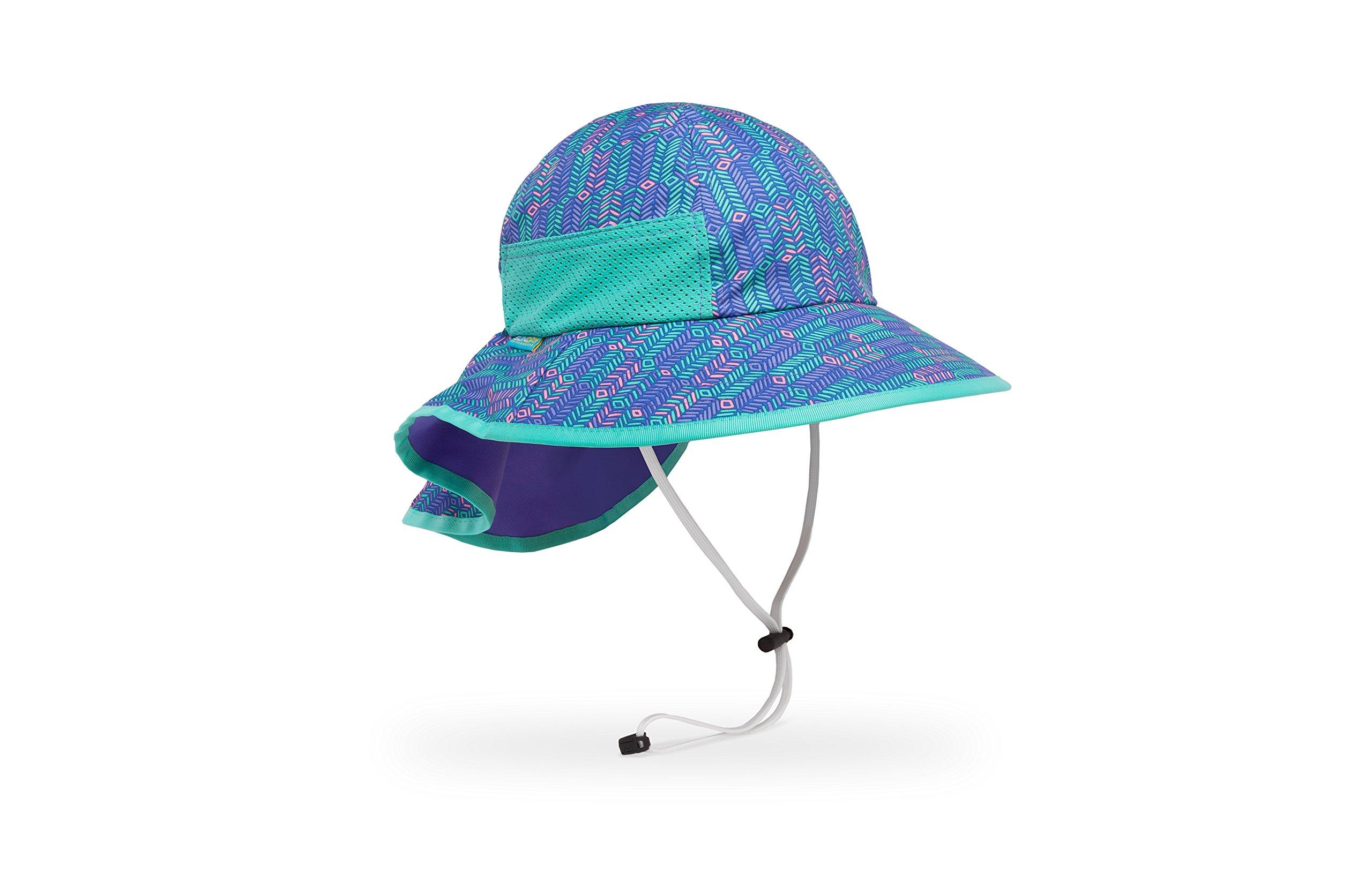 Sunday Afternoons Kids Play Hat, Purple Arrow/Iris, Medium