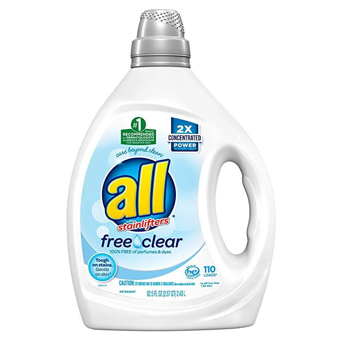 Top 10 Free And Clear Laundry Detergent For Colors