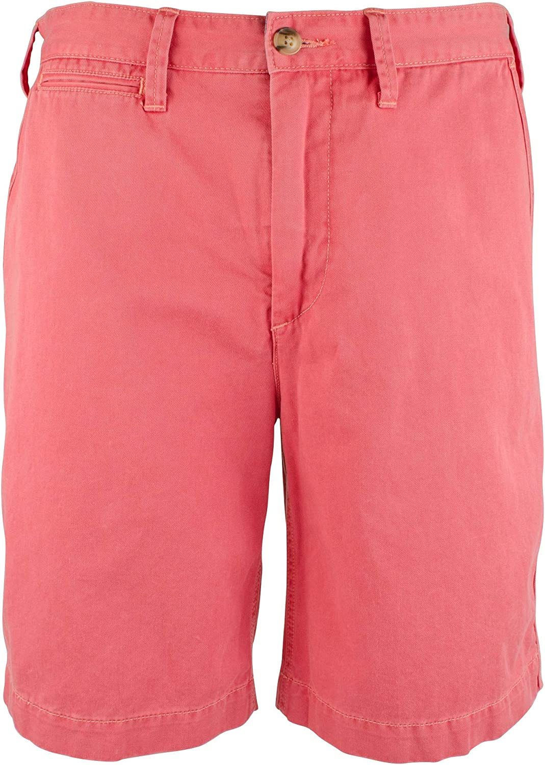 "Ralph Lauren Polo Men's 10"" Relaxed-Fit Cotton Flat Front Chino Shorts"