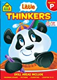 School Zone - Little Thinkers Preschool Deluxe Edition Workbook, Ages 3 to 5, Compare and Contrast, Critical Thinking…