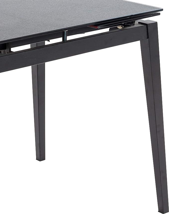 Italian Concept Push, Tavolo con Struttura in Metallo, Piano