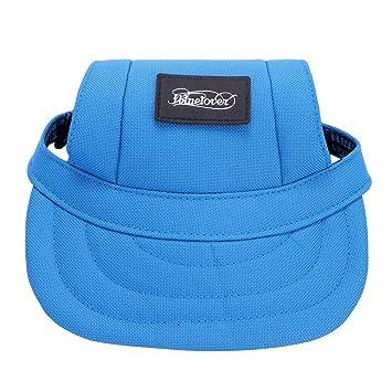 IBLUELOVER Pet Hats Summer Baseball Caps Dog Cat Visor Sports Hat cap  Outdoors Sunbonnet Puppy Cat 041efbe0943d