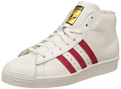 Adidas pro model vintage dlx men's lace up shoes weiß men's