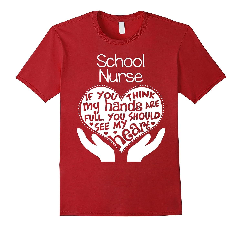 School Nurse T-shirt-TH