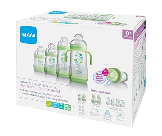 73 opinioni per MAM Babyartikel, MAM 66298000 Starter set anti colica