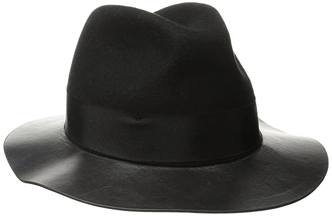 3ee5f337b71 San Diego Hat Company Women s Adjustable Fedora with Grossgrain Band and  Gold Stud Trim