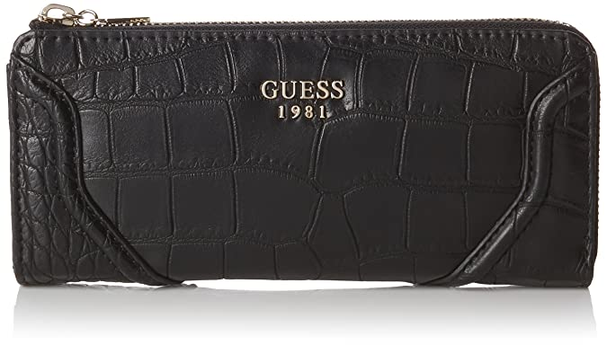 Guess Georgie SLG Slim Zip Wallet, Monedero para Mujer ...