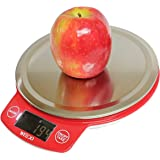 Wego balanza de cocina digital, balanzas digitales, escala con múltiples funciones, alta precisión de 1 g hasta 5000 g - con diferentes unidades: g/lb/oz/ml.