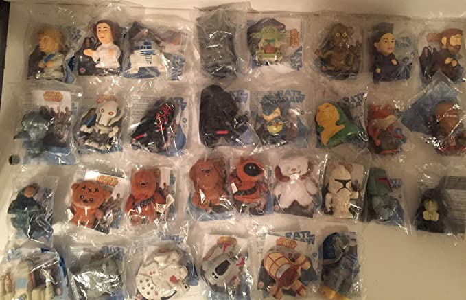 Star Wars Revenge Of The Sith Burger King Complete Watch Set At Amazon S Entertainment Collectibles Store