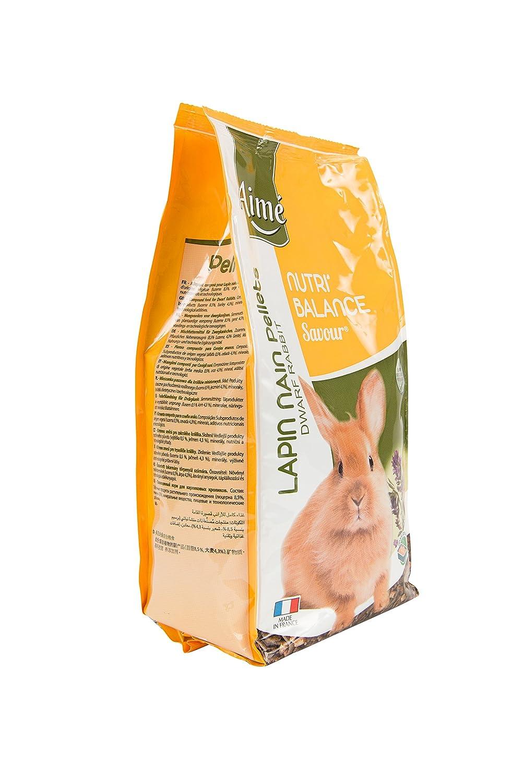 Aime Nourriture Nutri'Balance Savour Pellets Hamster et CIE 900 G pour Petits Animaux - Lot de 4 Agrobiothers 100215