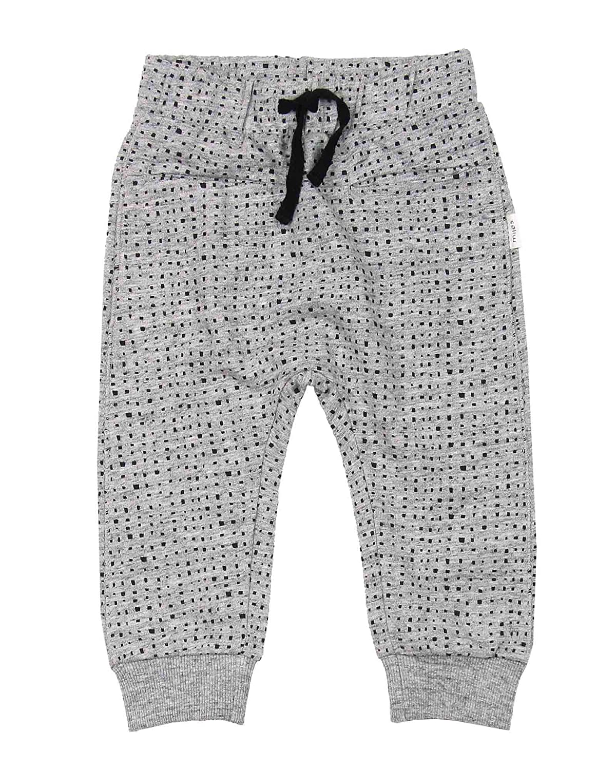 Sizes 6M-4 Miles Baby Boys Sweatpants in Blocks Print